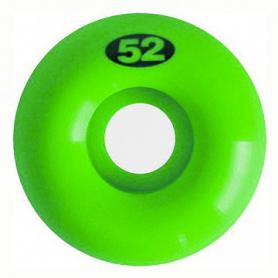 Jeu de 4 roues Naked Lime Green 52mm