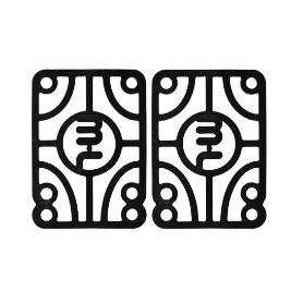 Pads 0.25 Mini Logo Hard (jeu de 2)