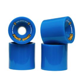 Jeu de 4 roues HAWGS Biggie - 70mm - 78A - Bleu