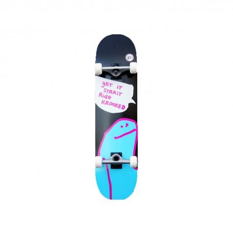 Skate complet KROOKED - OG SHMOO LG -  8.0 X 31.8