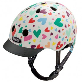 Casque enfant Nutcase Happy hearts