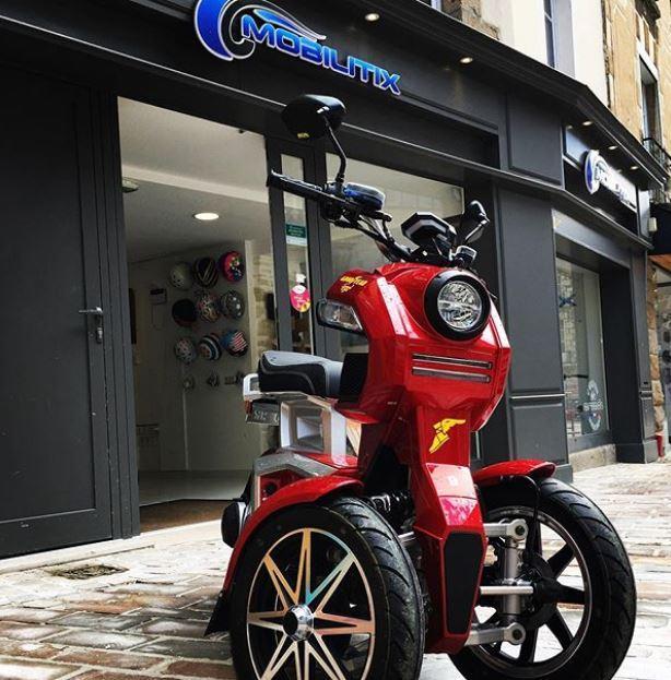 Scooter électrique Ego 2 rouge